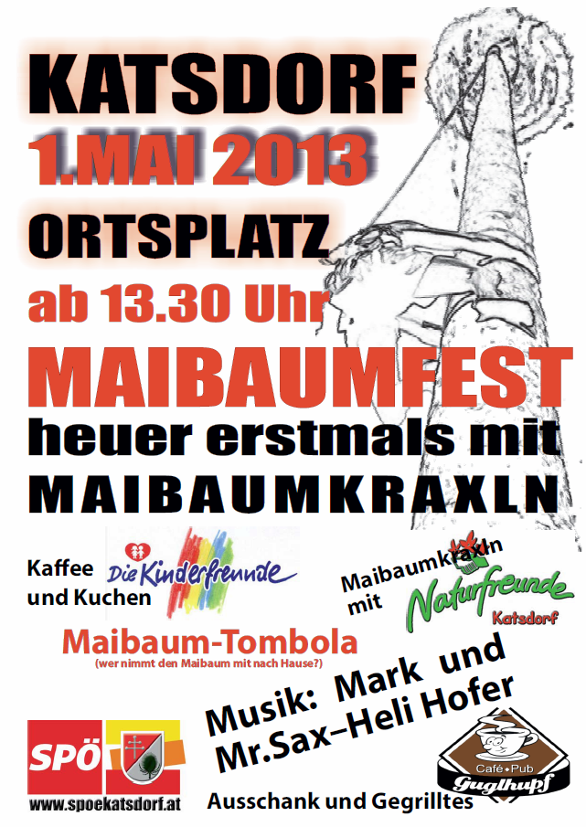 Einladung zum 1. Mai 2013
